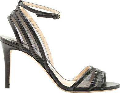 Betty Strappy Sandal 85mm - Black