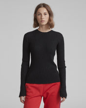 Load image into Gallery viewer, Donna Crewneck Sweater - Black