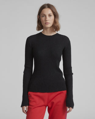 Donna Crewneck Sweater - Black