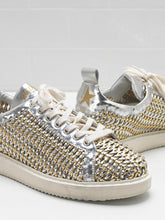 Load image into Gallery viewer, Starter Sneaker - Gold/Silver Cage