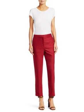 Poppy Pant - Red Melange