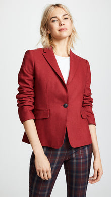 Lexington Blazer - Red Melange