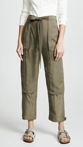 Henri Pants - Light Olive