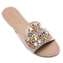 Load image into Gallery viewer, Calcutta Sandal - Pink/Champagne