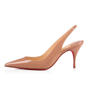 Clare Sling Back 80mm - Nude