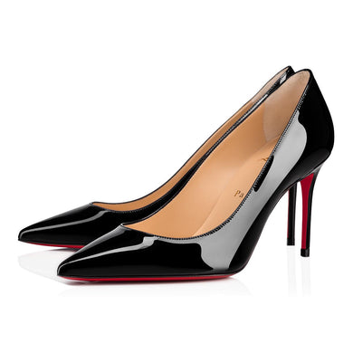 Decollete 85mm Pump - Black Patent