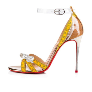 Metrisandal 100 mm - Yellow/Translucent