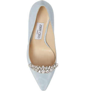 Romy Pump 60mm - Blue Crystal