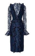 Load image into Gallery viewer, Mariette Dress - Navy