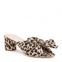 Load image into Gallery viewer, Emilia Platform Mule - Leopard