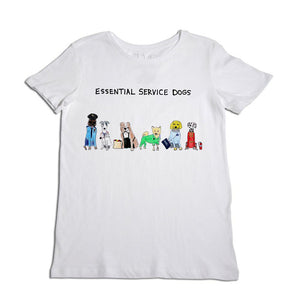 Essential Service Dogs Tee