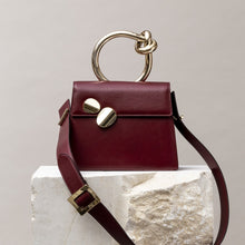 Load image into Gallery viewer, Big BB Shoulder Bag - Burgundi