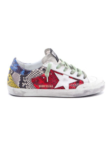 Superstar Sneaker - Multi Snakeskin