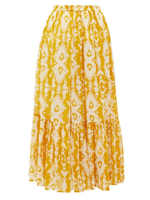 Sumatra Skirt - Yellow Combo