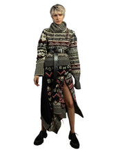 Load image into Gallery viewer, High Low Inside Out Fair Isle Sweater - Multi