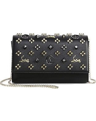 Paloma Clutch - Black/Gold