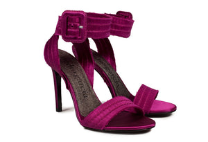 Catalina Strappy Heel - Orchid Satin