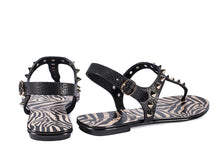 Load image into Gallery viewer, Edoile Sandal - Black