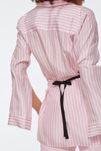 Load image into Gallery viewer, Striped Sensation Blouse - Pink/White