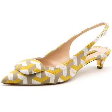 Misty 30 mm Pump - Sherbet Citron Optical Fantasy