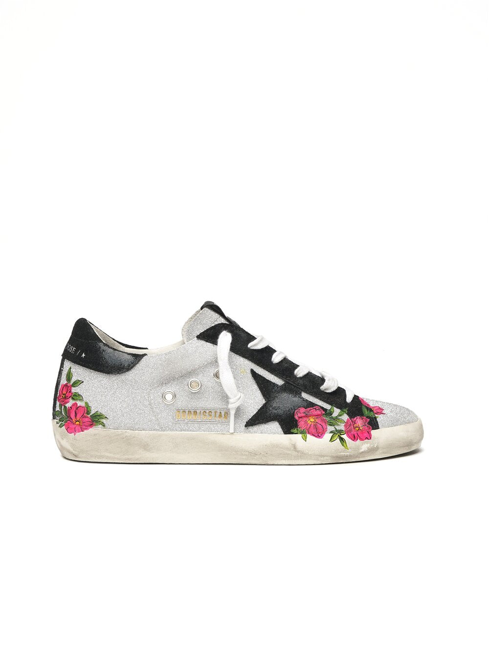 Superstar Sneaker - Roses/Black