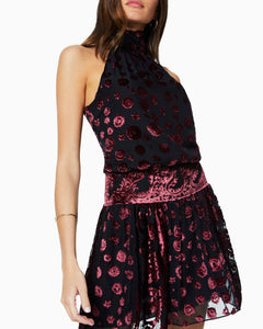 Naima Dress - Floral Burnout