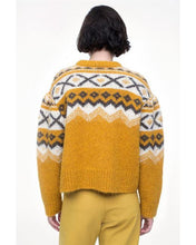 Load image into Gallery viewer, Fairisle Sweater - Yellow