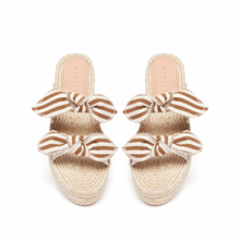 Load image into Gallery viewer, Daisy Platform Sandal - Amber/Natural