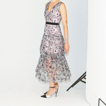 Load image into Gallery viewer, Starlet Tiered Midi Dress