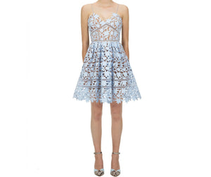 Mini Azalea Dress - Blue