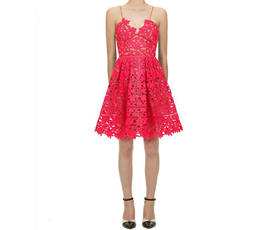 Mini Azalea Dress - Hot Pink