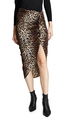Ari Skirt - Nude, Brown Cheetah