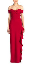 Load image into Gallery viewer, Wells Dress - Crimson Red