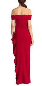 Wells Dress - Crimson Red