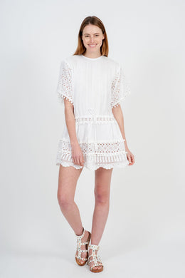 Albi Mini Dress - White