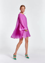 Load image into Gallery viewer, Zisse Pleated Mini Dress - Purple