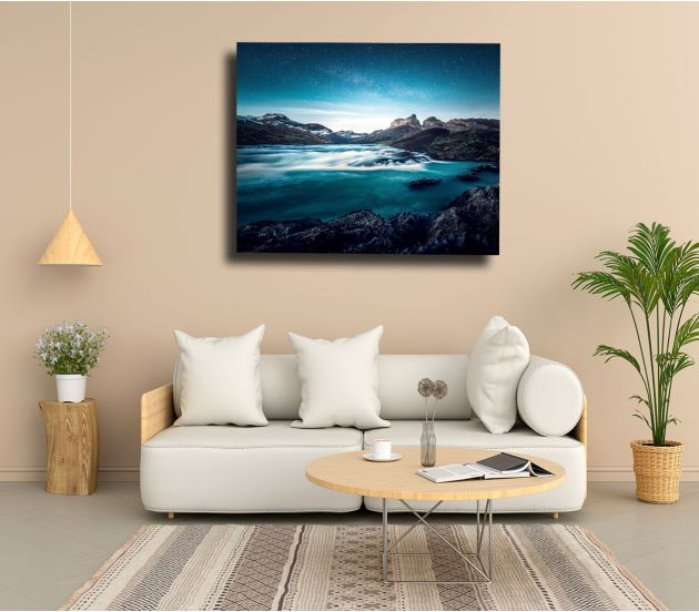 "12"" X 36"" WRAP CANVAS - 702Prints.com"
