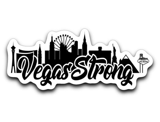 Vegas Strong Sticker - 702Prints.com