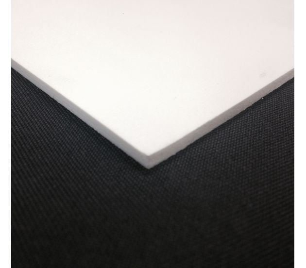 "LIGHTWEIGHT SINTRA WHITE PVC BOARD 12"" X 12"" - 702Prints.com"