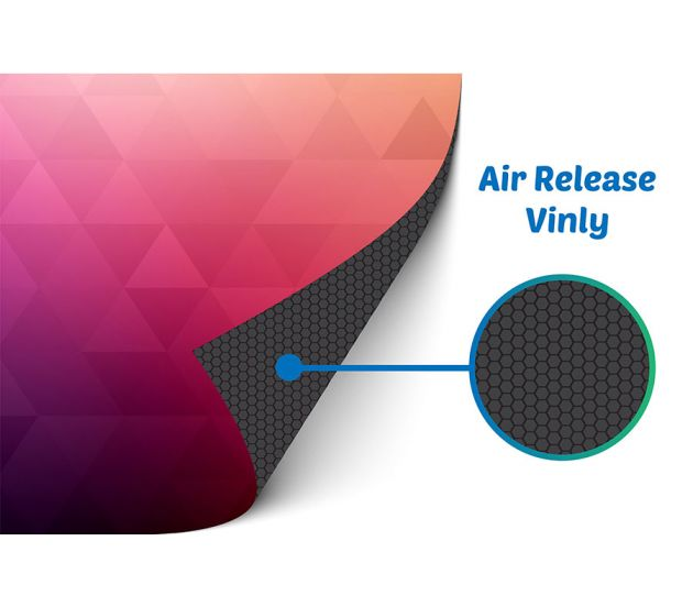 4MM AIR RELEASE ADHESIVE VINYL 18 X 18 - 702Prints.com