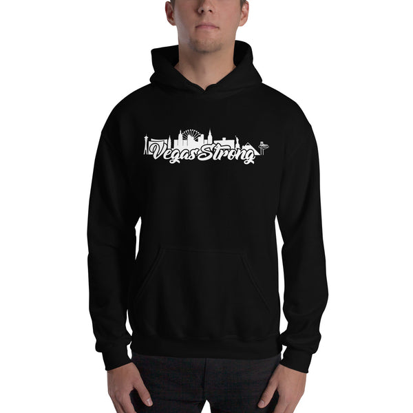 Vegas Strong Hooded Sweatshirt - 702Prints.com