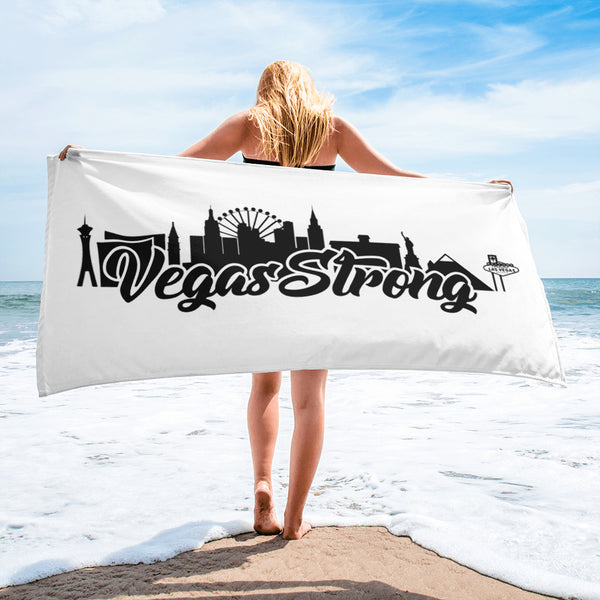 Vegas Strong Towel - 702Prints.com