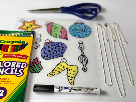 Christmas Shrinky Dinks Crafts
