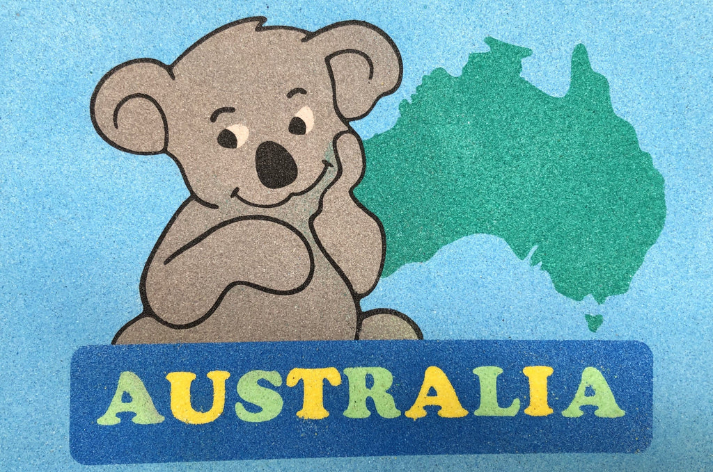 Australia Day Sand Art Pack
