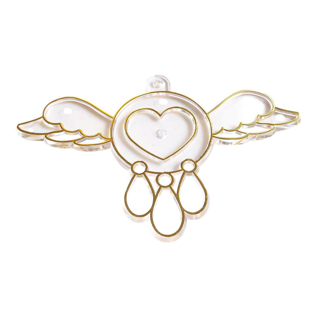 Flying Heart Charm Suncatcher