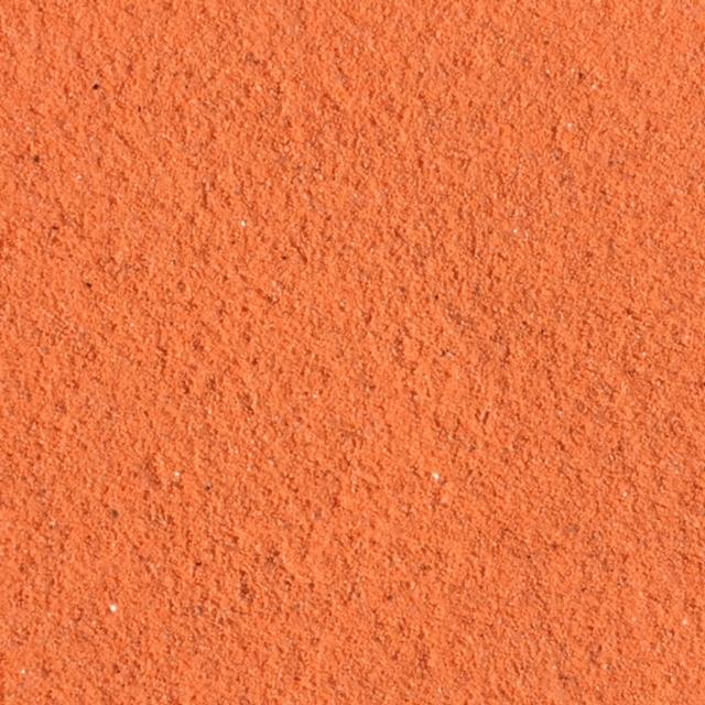 Fluro Orange Coloured Sand