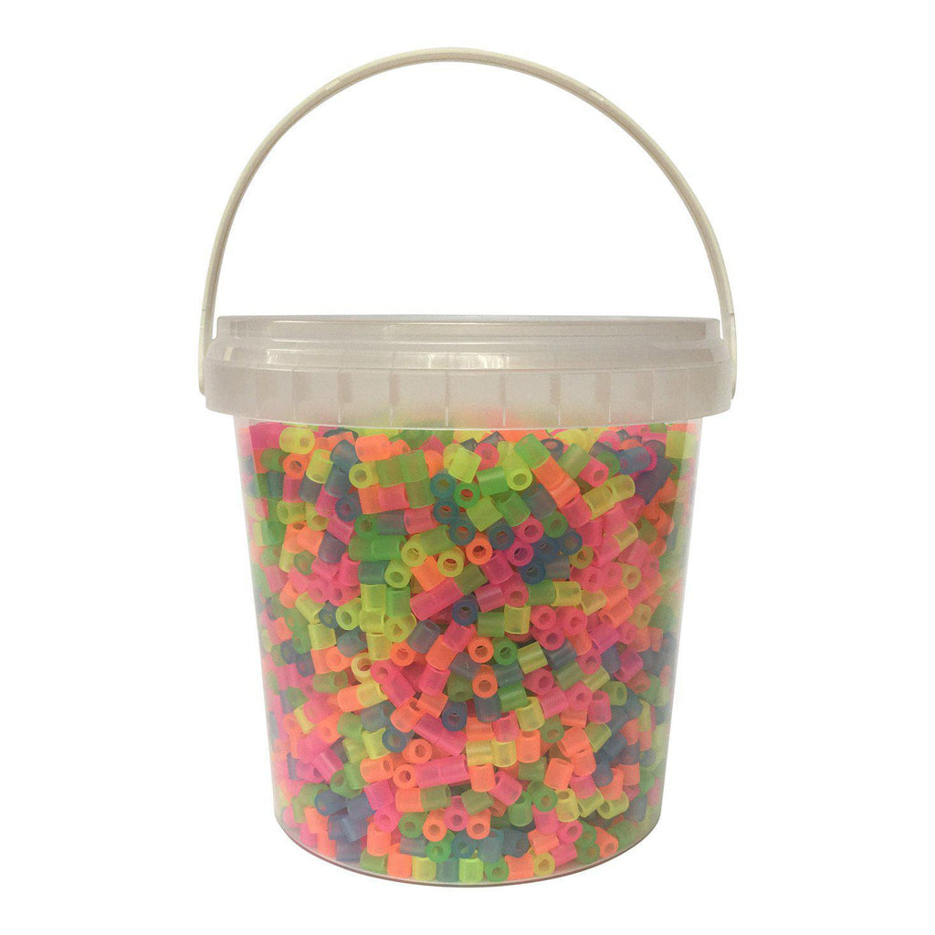 Transparent head beads