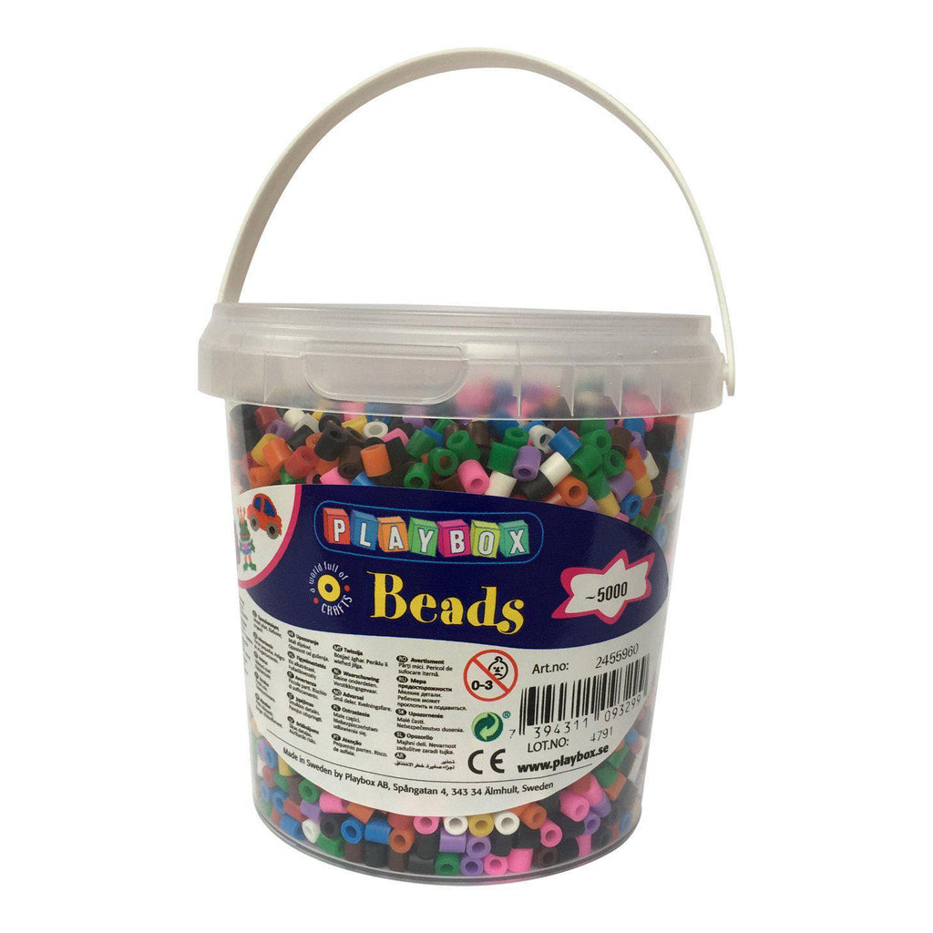 Playbox Fusible Beads - Basic Mix - SilverStarCrafts