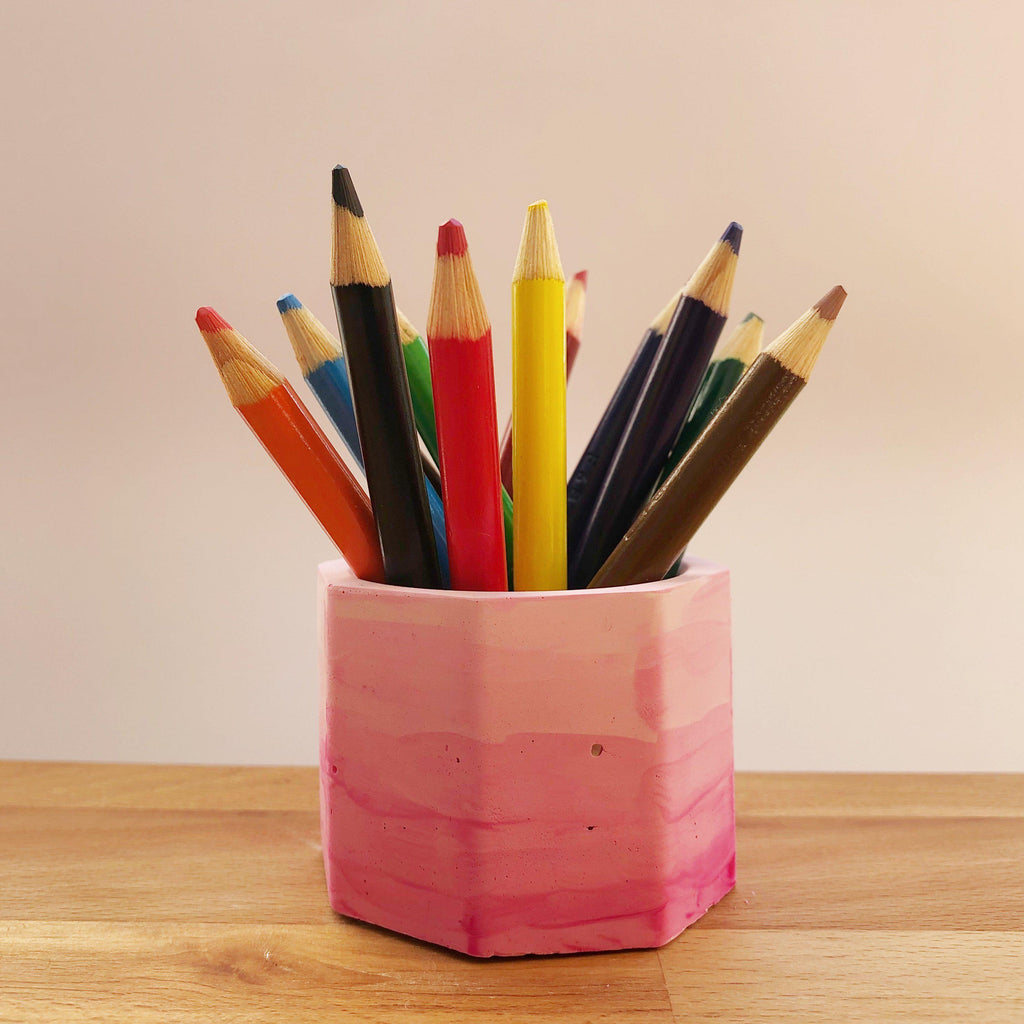 Pencil Holder Plaster Shape - SilverStarCrafts