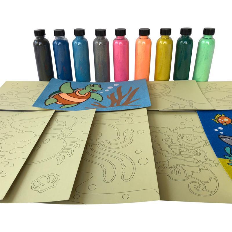 Sand Art Party Pack - SilverStarCrafts